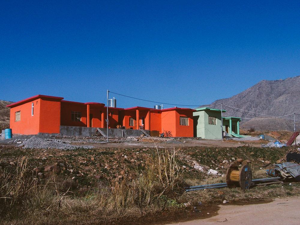 Completed starter homes