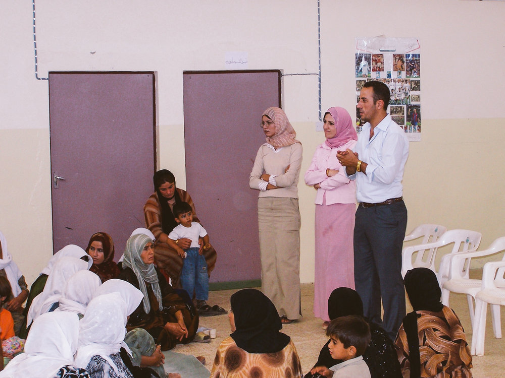 Community vocational and health awareness training