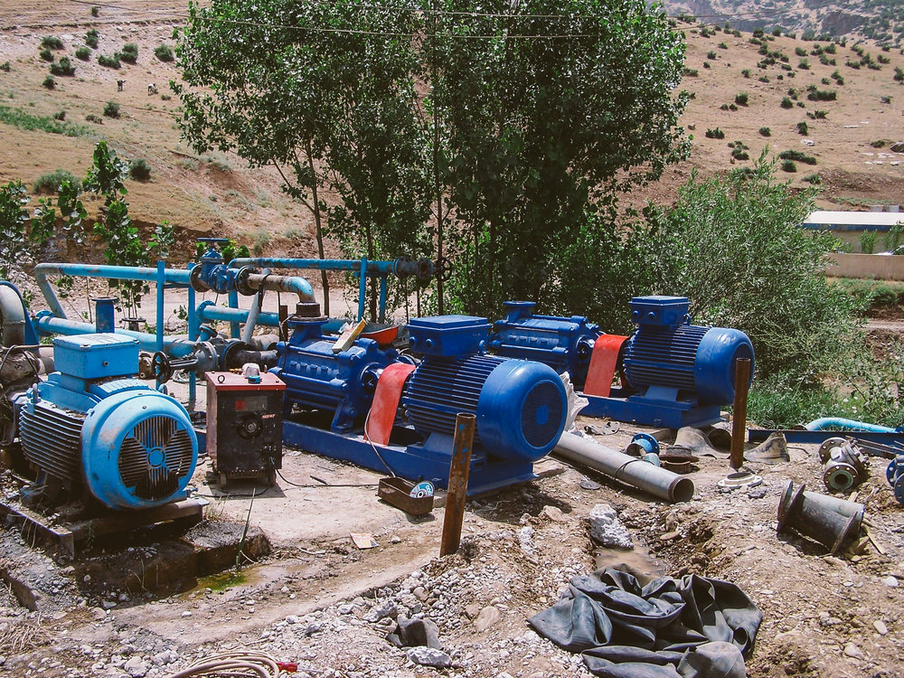 New water pumps