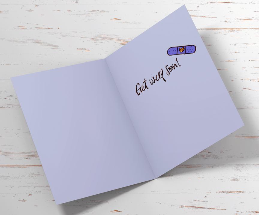 Get Well Soon Card Inside
