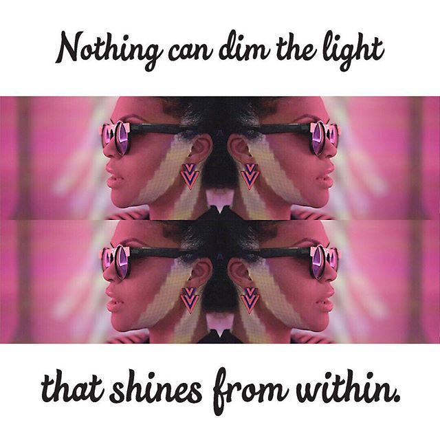 So I stopped looking for it and decided to become it instead. #motivationaltuesday #shinebright #youcrazydiamond #lifegoal #bethelight #beautiful #multidimensional #mirror #picoftheday #art #artist #performer #singer #femaledj