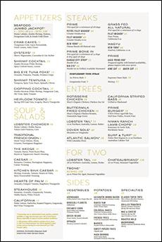 630 Park Steakhouse   Graton Resort Casino   Rohnert Park, CA   Link