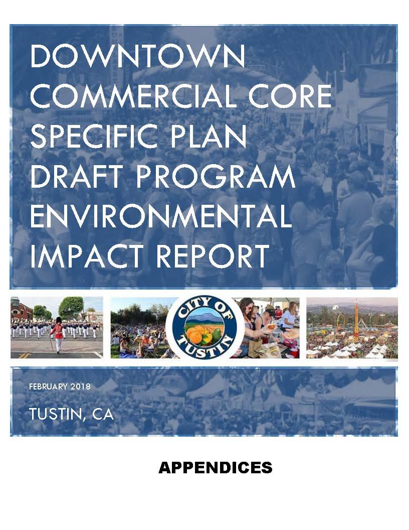 Cover DCC Specific Plan DEIR Appendix 2-15-18 opt v2.jpg
