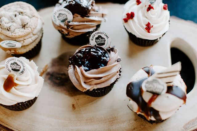 Did we mention that we are located right down the street from @thesaltedcupcake? Any excuse to have a cupcake party is a good one. #whatnewyearsresolution