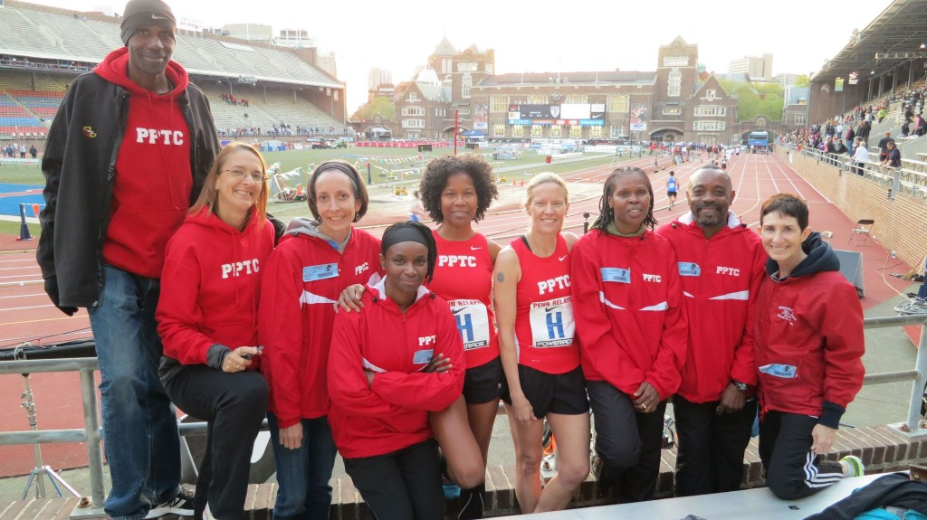 PPTC Penn Relays 2013 full group