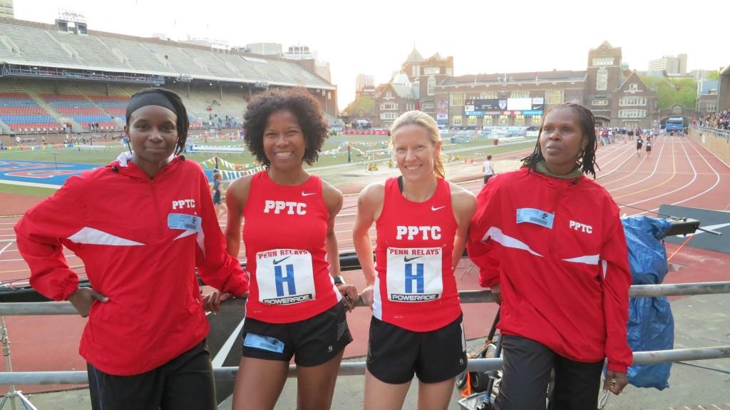 PPTC Penn Relays 2013 runners