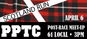 Scotland Run and Post-Race Meet-Up!