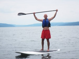 Nick Guerrero paddleboard