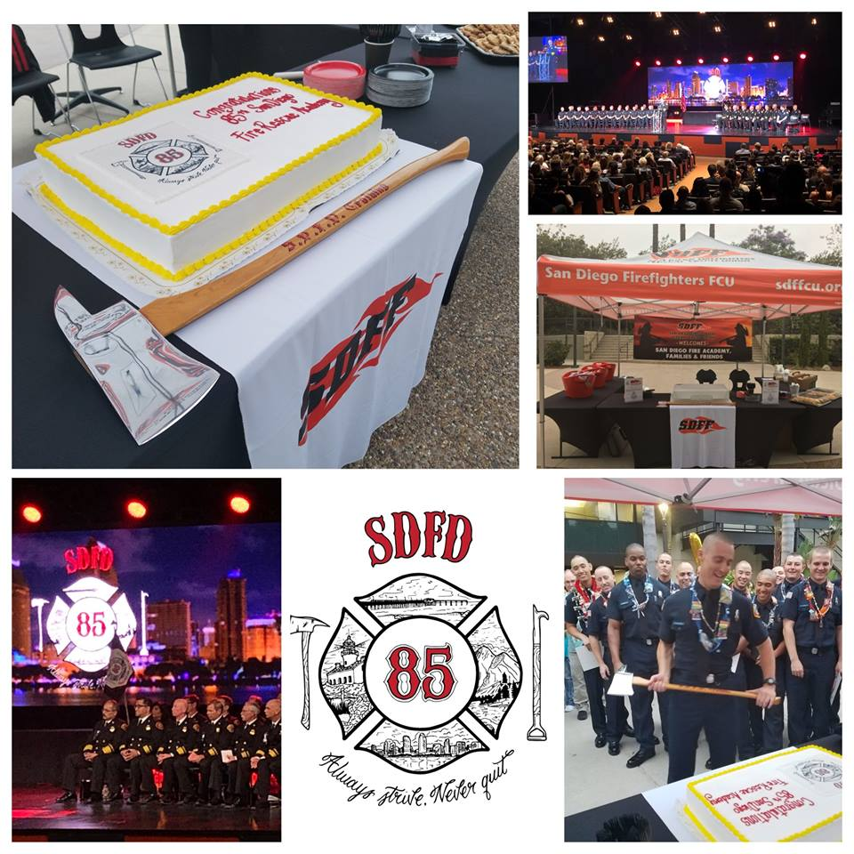 85th Fire Rescue Academy Graduation