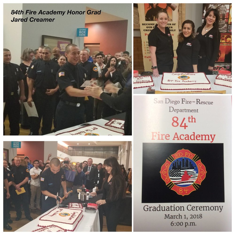 84th Fire Academy Graduation