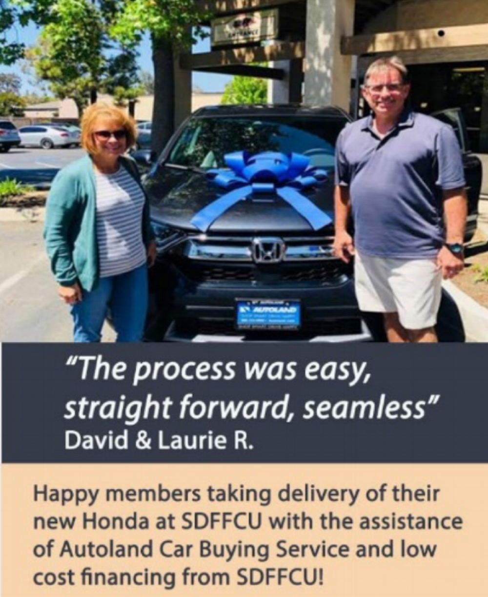 The car buying process was easy!