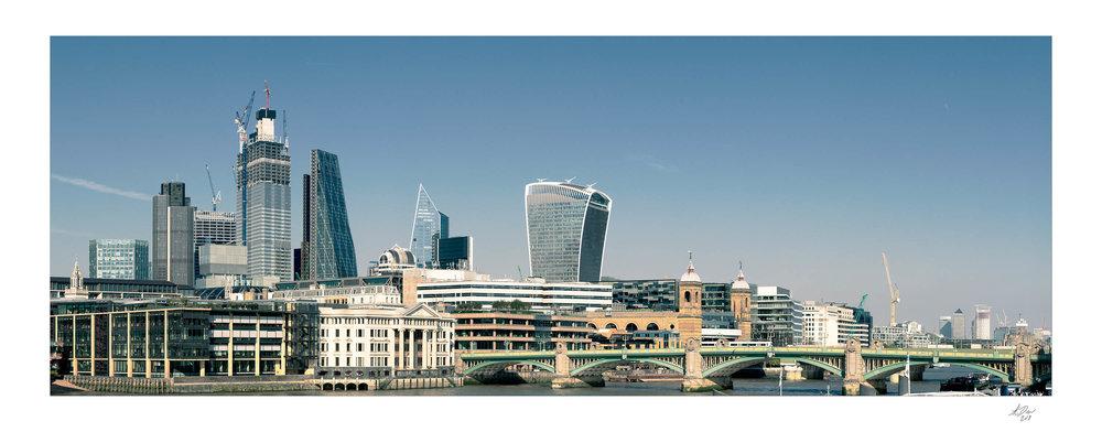 London City Panorama September 2018