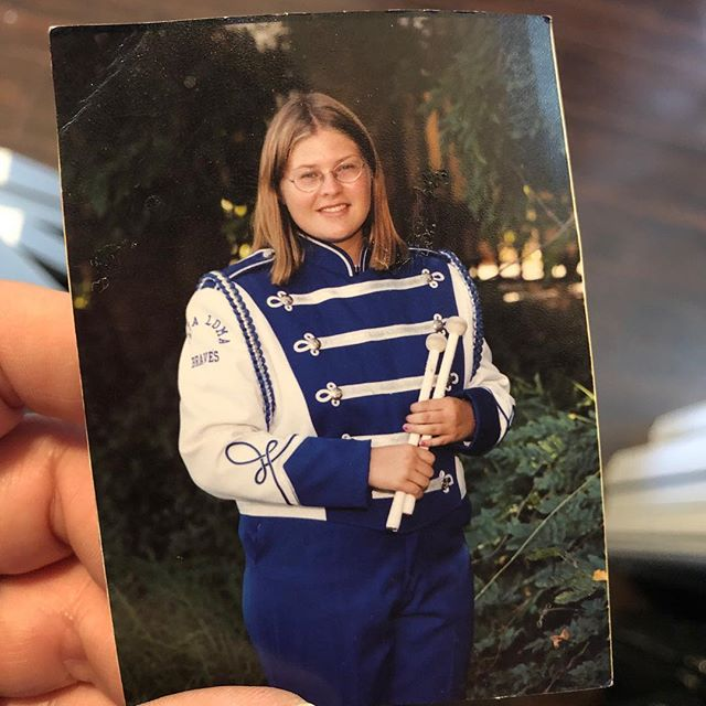 This photo was randomly sitting at the bottom of a bag in my apartment. High school wasn't fun and this year especially sucked, but life definitely got better! Bonus: this is my natural hair color and I haven't seen it fully grown out since this age and I *hated* that uniform with a deep passion. Woo!