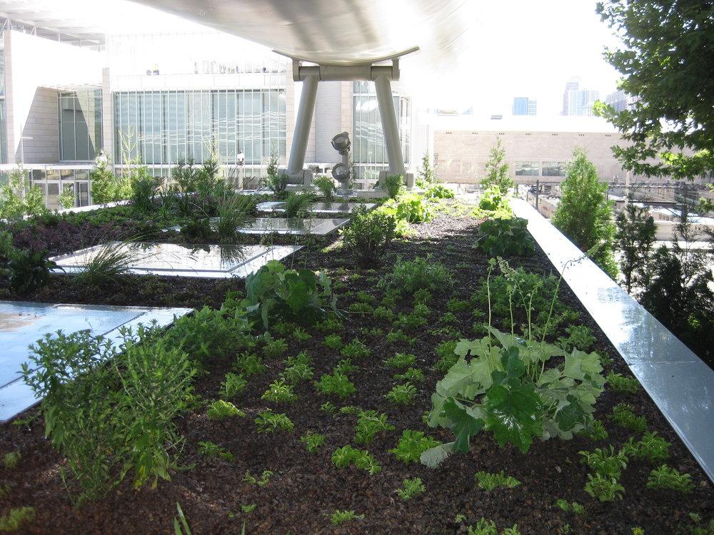 Lurie Garden Maintenance Building