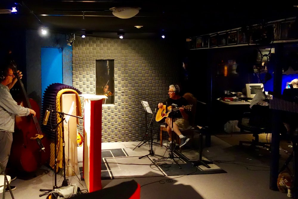 The Band in the Studio -
