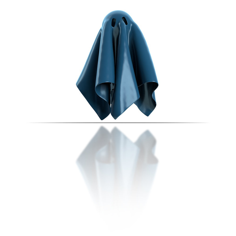 Stylized ghost costume