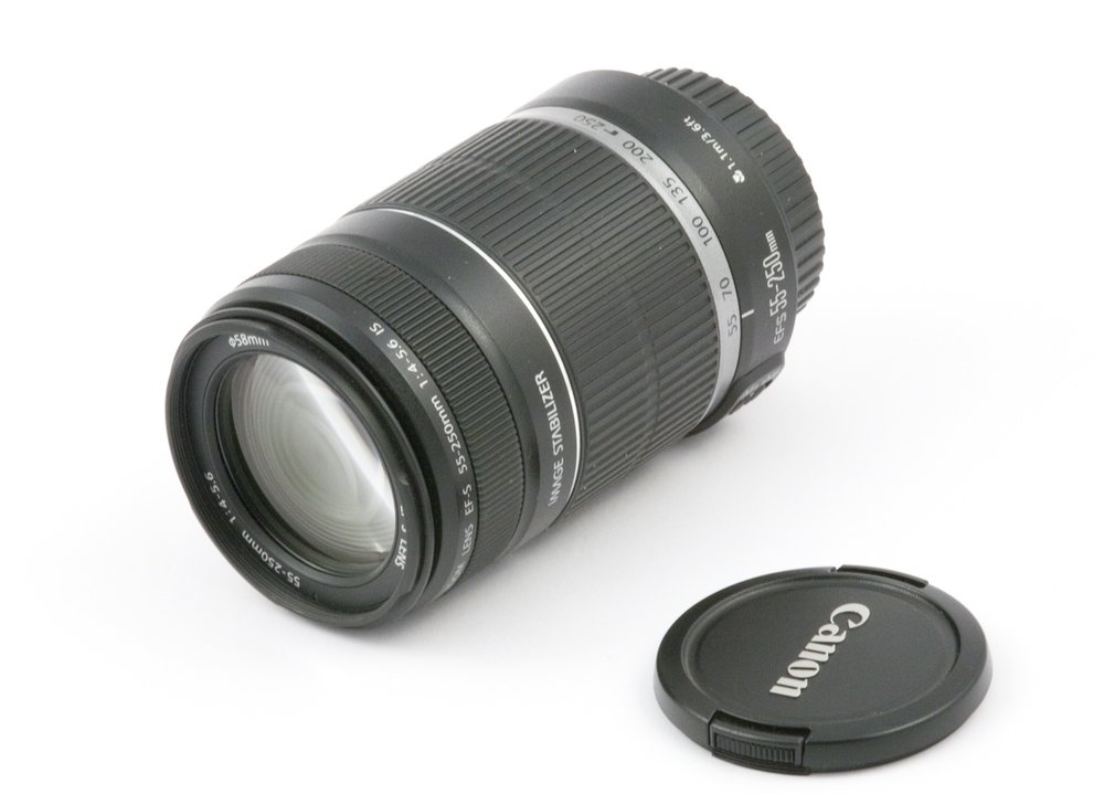 Canon EF-S 55-250mm F4-4.6 IS STM