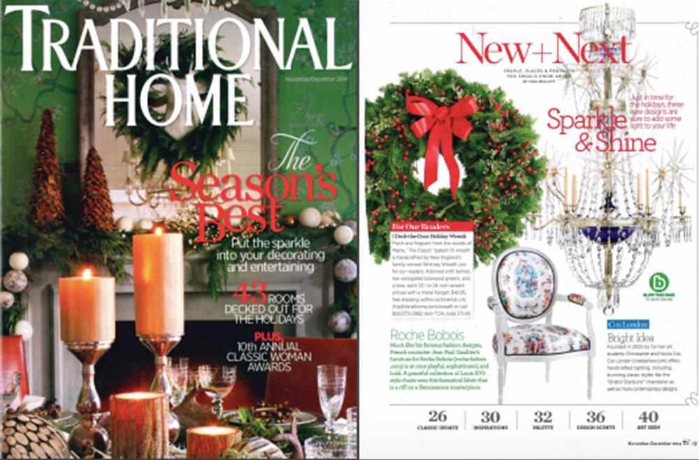 Traditional Home   Nov/Dec 2014