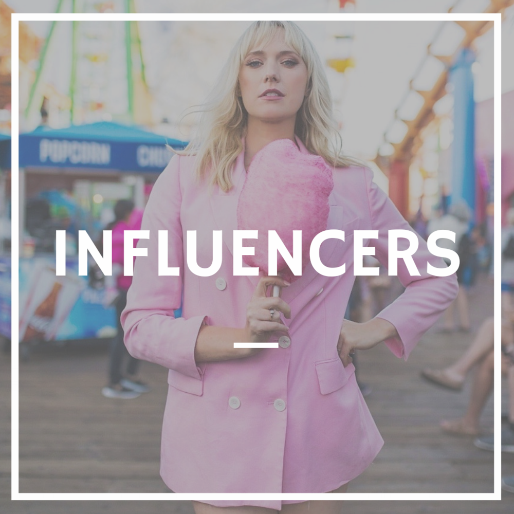 Influencers and Public Figures