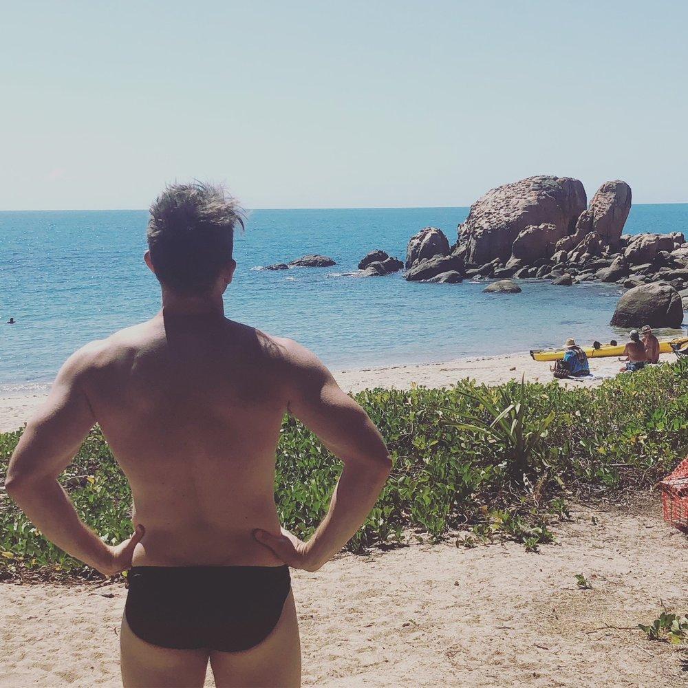 male stripper melanoma Australia tour