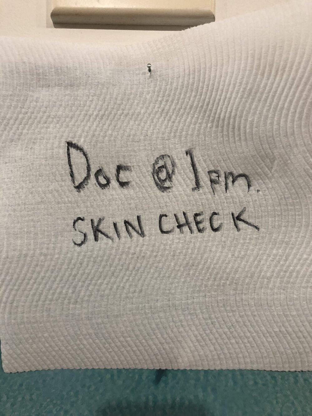 skin check melanoma Australia