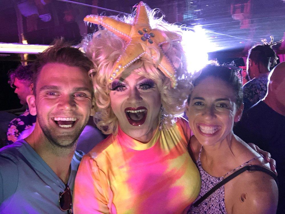 male stripper australia tour late night gents melanoma awareness