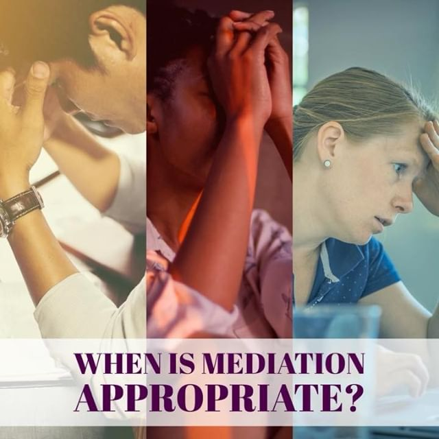 Are you wondering when is conflict appropriate for mediation ? Here is a slideshow explaining just that.
