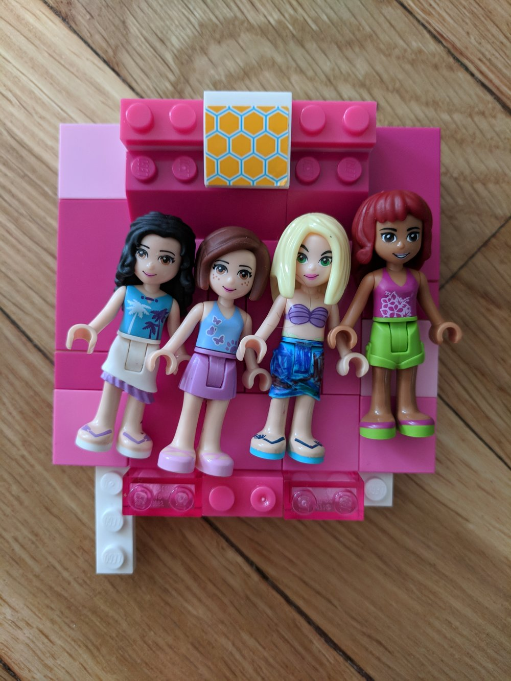 Lego Friends  sleepover.