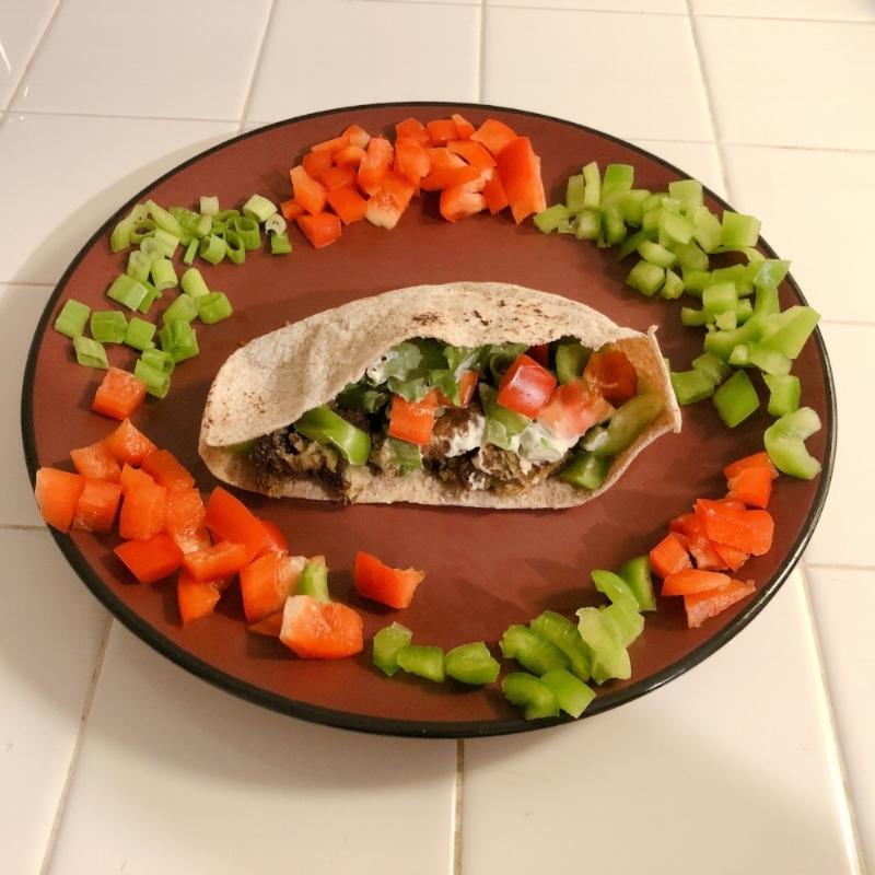 Mealworm Falafel Pocket