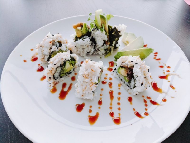 Spider sushi