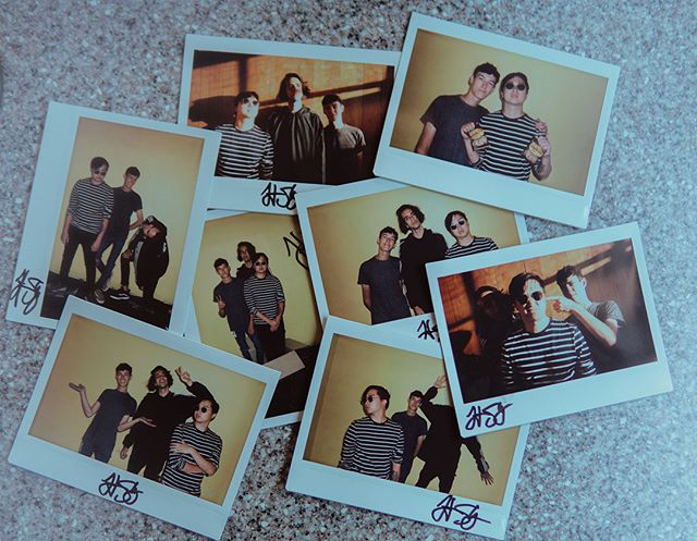We'll be taking a limited number of daily polaroids all throughout Warped. Swing by merch and grab your one of a kind souvenir! (📸: @ambatambb )