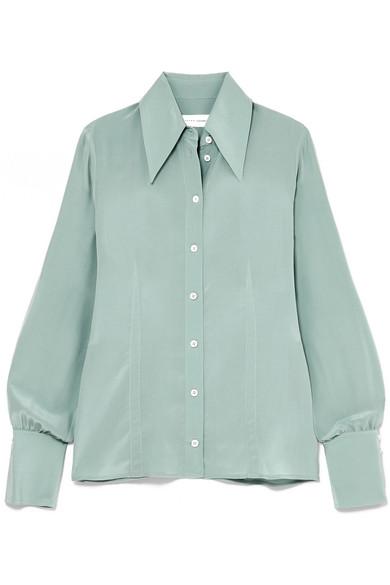 Victoria Beckam Silk Shirt