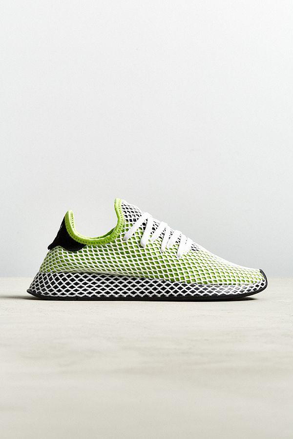 Adidas neon mech sneakers