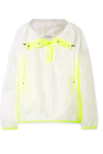 L'Etoile Net-a Porter neon jacket stylemigrator