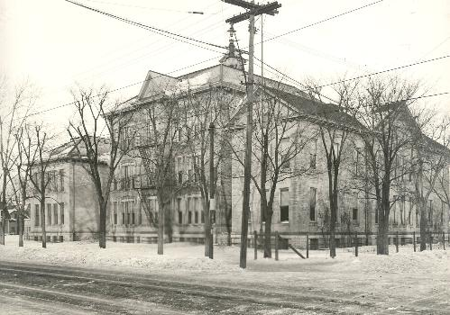 Horace Mann School, after 1916 addition