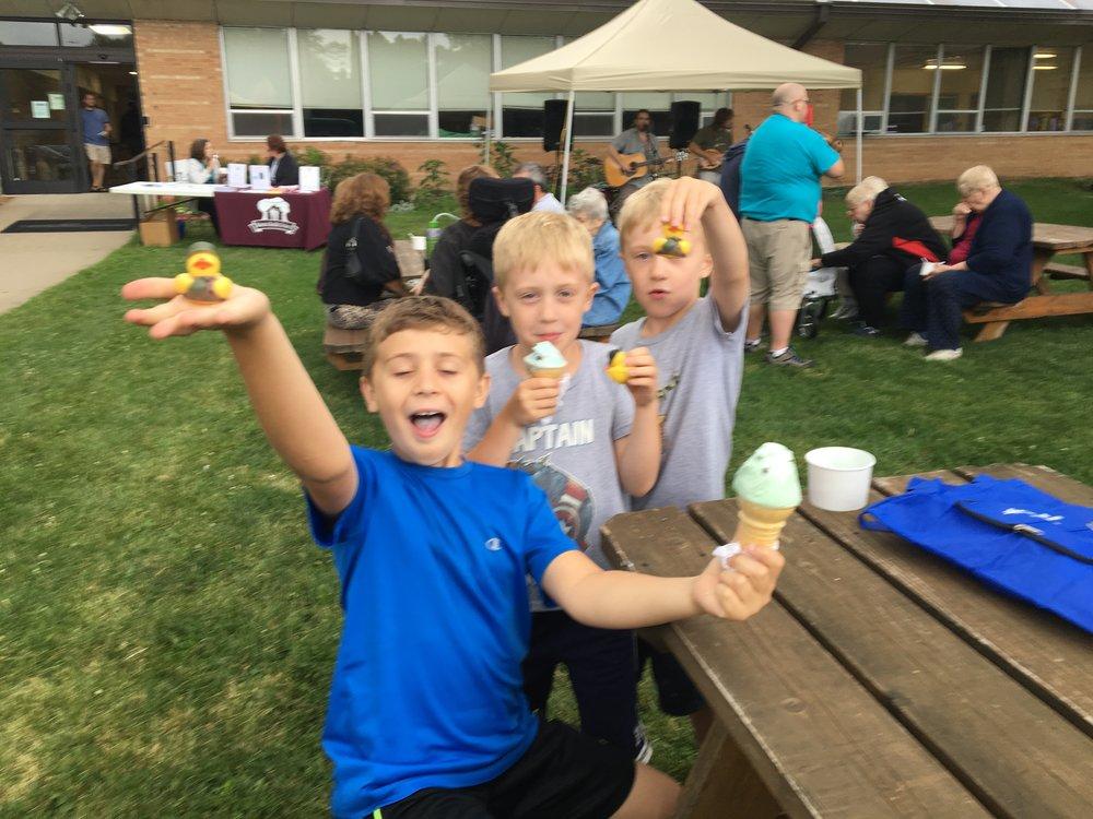 Bancroft Ice Cream Social