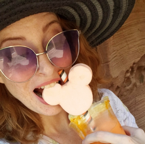 Candy Corn Milkshake Disney World