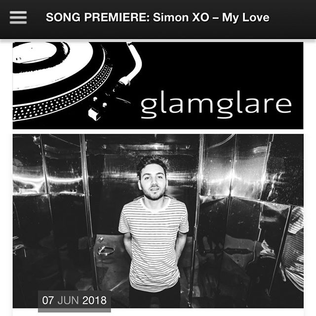 "Be the first to listen to my new single ""My Love"" courtesy of @glamglare ❤️ Link in bio."