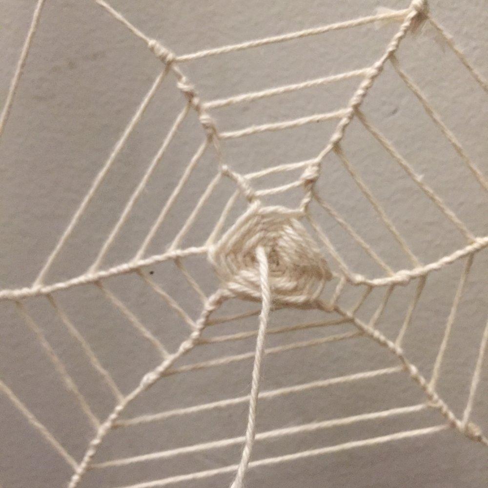 Web detail, back. Maya Eilam