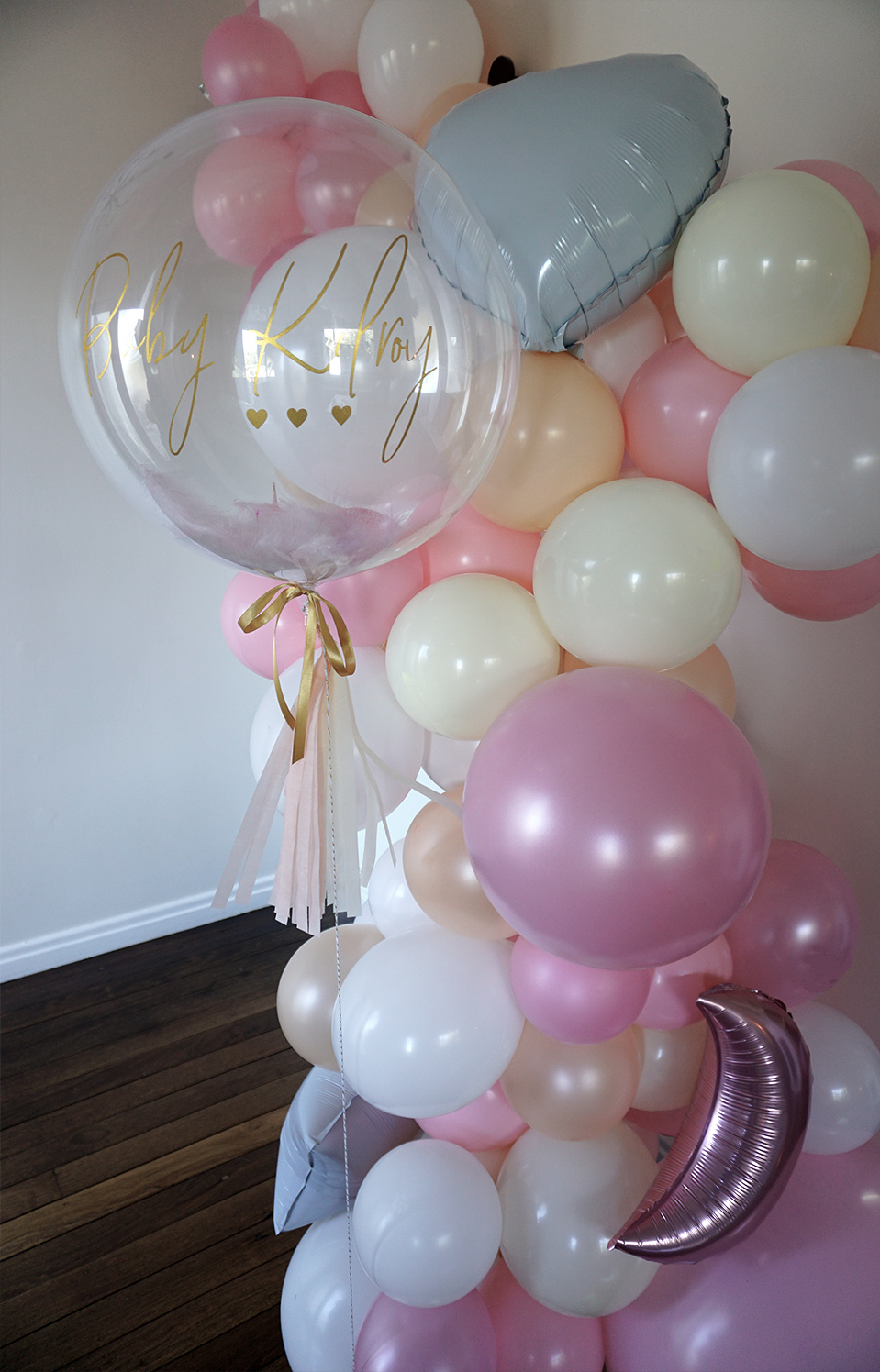 price varies depending on size - Custom balloon garland