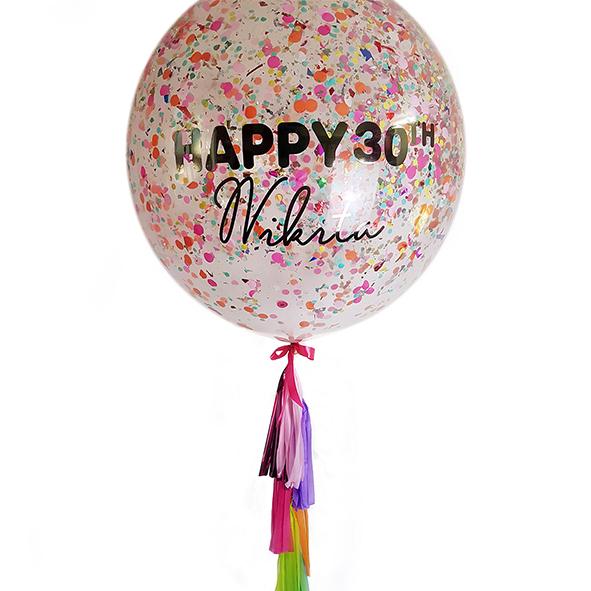 - confetti balloons