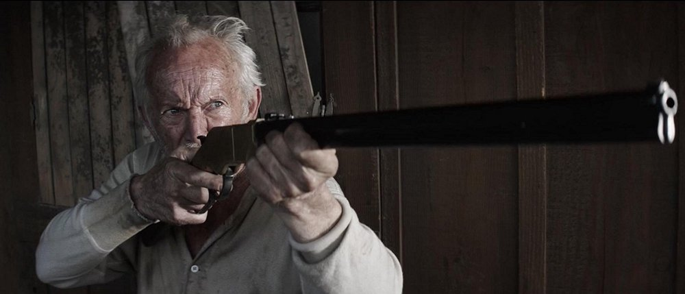 "Lance Henriksen in ""Gone Are the Days""."