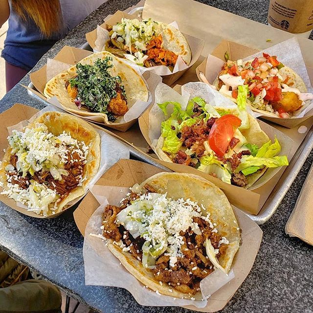 Tuesdays are for tacos and tacos...well they're for every day! Join us at @pourvidalatinflavor for #TACOTUESDAY. Check out their white wall for their $3 taco specials.  PC: @xspaicialxkx