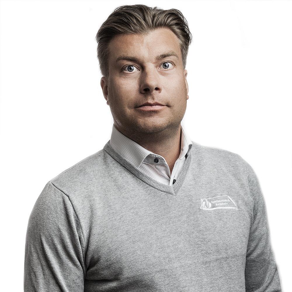 VD Fredrik Sällqvist -