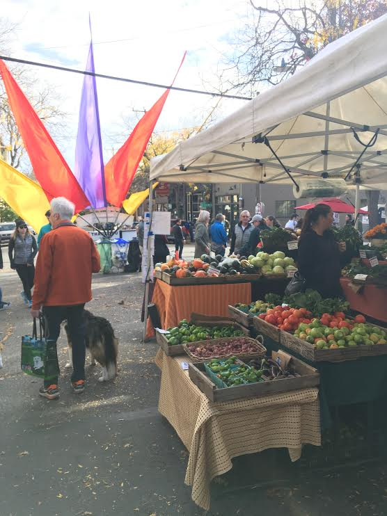 One of the amazing Farmers Markets