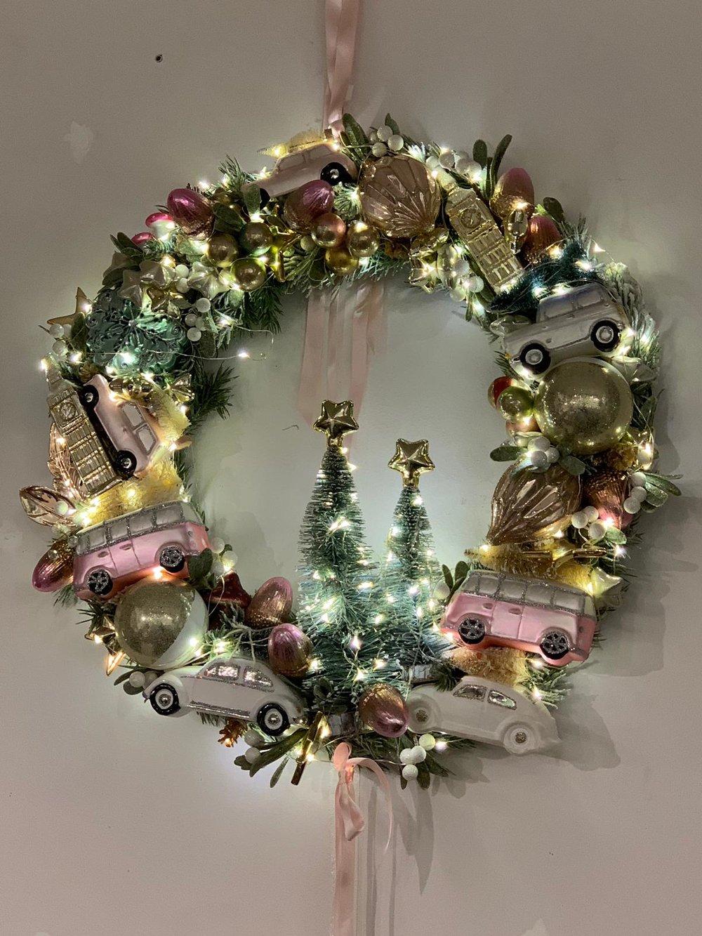 Interior designer Cambridge Christmas decorations