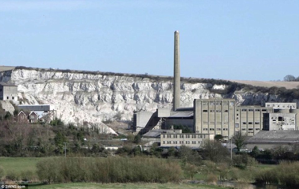Shoreham cement works -