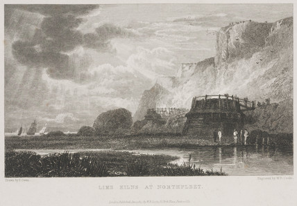 Lime kilns at Northfleet -