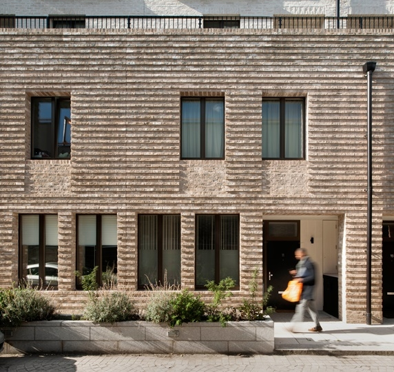 An architectural expression of horizontals -