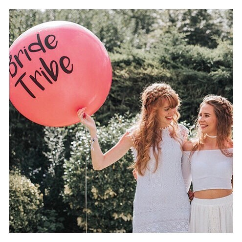 Obsessed with this #BrideTribe balloon! I think everyone needs one of these on their hen do!! #henparty #hendo #bacheloretteParty #bridetobe #Bridesmaiduties #ProfessionalBridesmaid #maidofhonour #maidofhonor #bridalparty #bridalShower #wedding2019 #weddingdress #bridesmaidhair